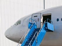 Big passenger airplane Royalty Free Stock Photography