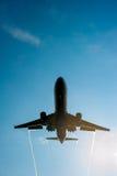 Big passenger airplane Stock Photos