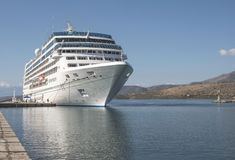 Big passenger ship Royalty Free Stock Photos