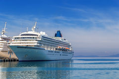 Big passenger ship Royalty Free Stock Photography
