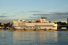Big passenger ship Royalty Free Stock Image