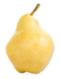 Big pear isolated Stock Image