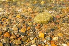 Big pebbles on a beach Royalty Free Stock Photos