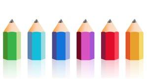 Big Pencil Royalty Free Stock Photography