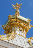 The Big Peterhof palace, Russia Royalty Free Stock Photography