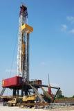 Big petrol drilling machine Royalty Free Stock Image