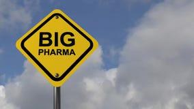 Big pharma stock video