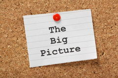 The Big Picture Royalty Free Stock Photos