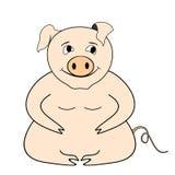 Big pig Stock Photo