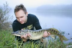 Big pike Stock Images