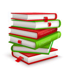 Big pile of books Royalty Free Stock Images