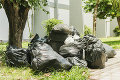 Big pile of garbage and waiste Stock Photo