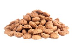 Big pile of ginger nuts Stock Images