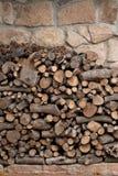 Big pile of logs Stock Photos