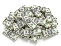 Big pile of the money Royalty Free Stock Photo