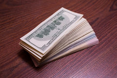 Big pile of money Stock Photo