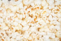 Big pile of popcorn royalty free stock photography