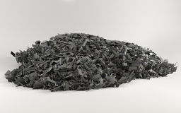 A big pile of scrap on light background Royalty Free Stock Photos