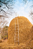 Big Pile of Straw Royalty Free Stock Image