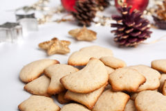 Big pile of Various Christmas Cookies Royalty Free Stock Photography