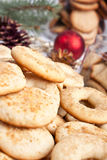 Big pile of various cookies Royalty Free Stock Photo