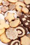 Big pile of various cookies Stock Photography