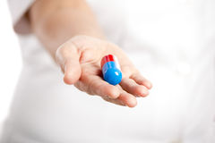 Big pill Royalty Free Stock Photography