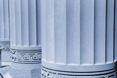 Big Pillars Royalty Free Stock Photos