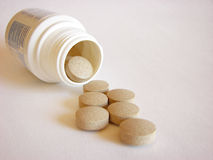 Big pills Royalty Free Stock Photography