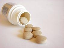 Big pills royalty free stock photography