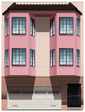 A big pink building Stock Photo