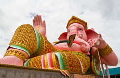 Big Pink Ganesha Royalty Free Stock Images