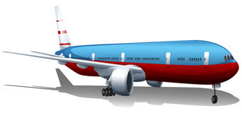A big plane Royalty Free Stock Image