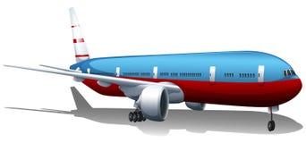 A big plane Royalty Free Stock Image