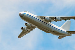 Big plane in the sky Stock Images