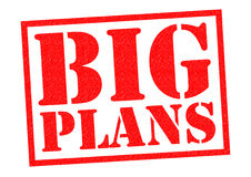 BIG PLANS Royalty Free Stock Image