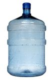 Big plastic bottle for potable water Royalty Free Stock Photos