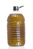 Big plastic oil�s container Royalty Free Stock Images