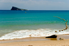 Big playa levante-benidorm,spain Stock Photography