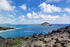 Big Plue Hawaii Stock Photos