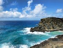 Big Plue Hawaii Stock Images
