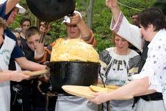 Big polenta Stock Photos