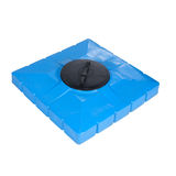 Big plastic container for shower Stock Image