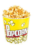 Big Popcorn Bucket Stock Photography