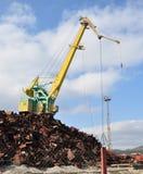 The big port crane Stock Photography