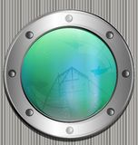 big porthole Royalty Free Stock Images