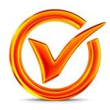 Big positive symbol on white background. Isolated 3D illustratio Royalty Free Stock Photo