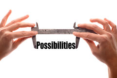 Big possibilities Stock Images