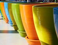 Big pot for decoration Stock Image