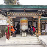 Big prayer wheel Royalty Free Stock Images
